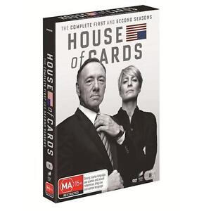 House Of Cards SEASONS 1 & 2 = NEW R4 DVD