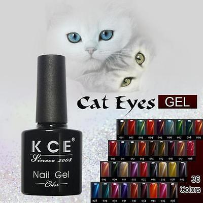 Cat Eye Gliter Gel Long-lasting Soak Off UV LED Color Changing Nail Polish 12ml