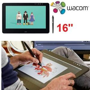 OB WACOM GRAPHIC TABLET PRO 16 DTH1620AK0 237196015 WITH LINK PLUS OPEN BOX
