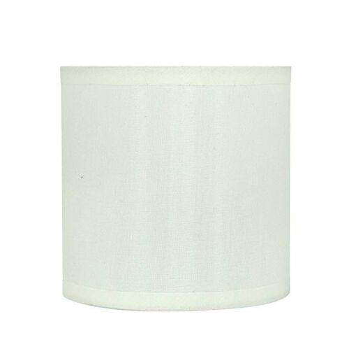 Aspen Creative 31001 Hardback Drum Shape Clip-On Lamp Shade