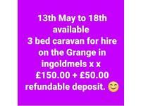 Caravan hire ingoldmels