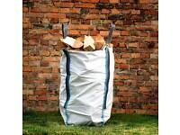 Barrow bag kiln dry hardwood logs BIRCH ASH OAK huge stocks all year round £40 free local delivery