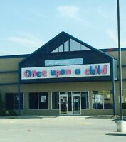 Open to Buy!  Once Upon A Child Winnipeg West (Polo Park Area)