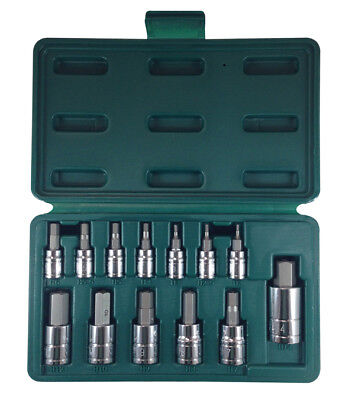 ATD 13 Pc. Tamper-Resistant Metric HEX Bit Socket Set #13795