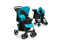 Brand New Travel System Aqua Colour inc Car seat, bag, footmuff