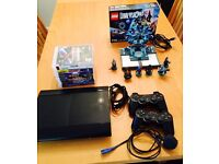 PS3 Console +9 games + 2 remotes+ Lego dimensions