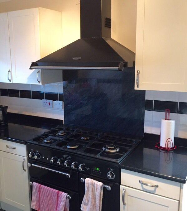 photos showing rangemaster kitchener 90 dual fuel installation verification visit