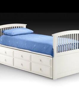 LOOKING FOR  set of two Twin captains beds Peterborough Peterborough Area image 1