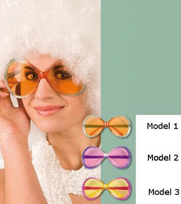 e Frauen Damen Brille siebziger achtziger Mottoparty Brillen (80er-jahre-frauen)