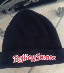 Rolling stoner and coal beanie