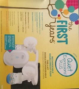 First years quiet expressions breast pump & extras$100 obo