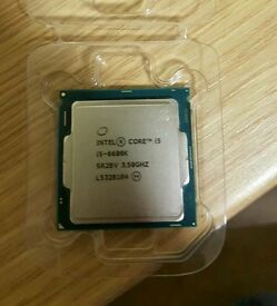 Intel® Core™ i5-6600K 3.5GHz (up to 3.9GHz) Quad core 6MB Cache