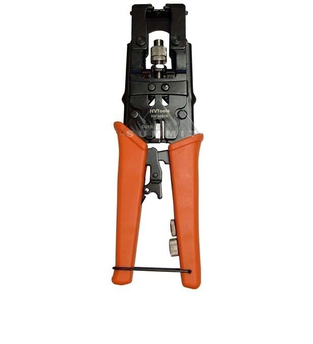 Eagle Compression Connector Crimper Tool BNC RCA F RG59 RG6 Coaxial Crimp Tool