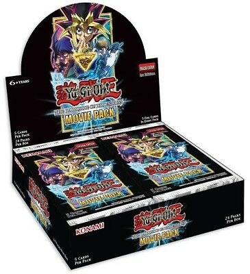 YuGiOh Dark Side of Dimensions Movie Booster Box [24 Packs] [Sealed]