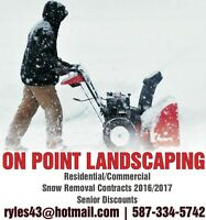Snow Removal with On-Point Landscaping