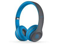 Beats Solo2 Wireless Headphones - New & unopened - Flash Blue