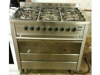 Range gas cooker and electric oven diplomat 90cm