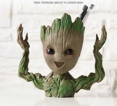 Guardians of The Galaxy 2 Baby Groot Figure Flowerpot Pen Pot Decor Toy Gift 3rd