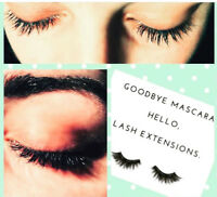 20% Off Eyelash Extensions for the month of October!