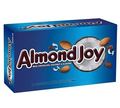 Almond Joy Candy Bar, 1.61-Ounce Bars 36 Ct Fresh Coconut Milk (Joy Candy Bar)