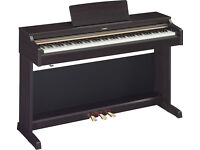 1 year old Yamaha Arius YDP-162 for sale - piano stool manual and headphones included
