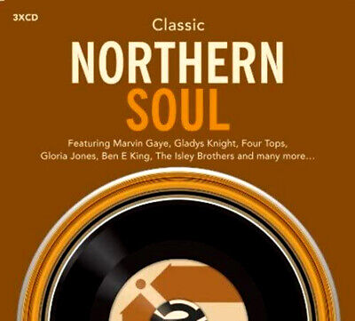 Classic Northern Soul NEW 3XCD SET ft. MARTHA REEVES, JERRY BUTLER, FRANK WILSON