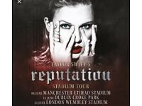 Taylor Swift tickets x 2 London BELOW FACE VALUE