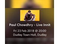 Paul Chowdhry Live