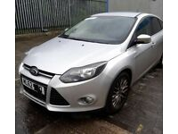 Ford. Focus mk5. Passenger side silver wing. Breaking spares parts ask
