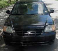 2003 Hyundai Accent GS Coupé (2 portes)