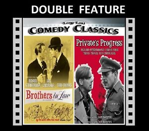 Private's Progress / Brothers In Law ( Ian Carmichael ) for Region 2 - NEW DVD