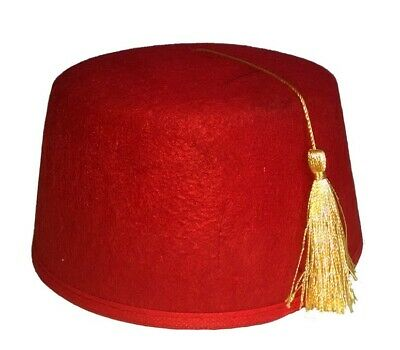 Dr. Who Moroccan Shriner Adult One Size (Dr Who Fez)