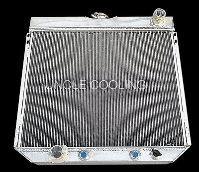 NEW 3 ROWS 1967 1970 FORD MUSTANG 20 CORE ALL ALUMINUM RADIATOR