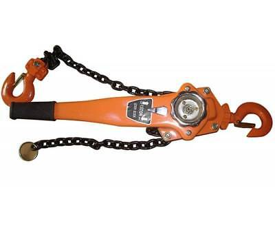 Chain Lever Block Hoist Come Along Ratchet Lift 1.5 Ton 3000lb Capacity 0 Ship