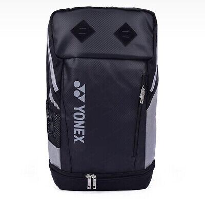 BLACK YONEX Pro BackPack Racket Bag 9812EX w//Shoe Compartment /& Many Pockets