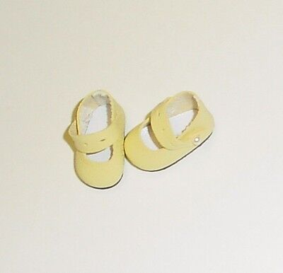 READ DESC. Doll Shoes 47mm ORANGE Sandals for Kish Bitty Bethany