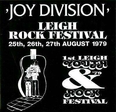 JOY DIVISION Leigh Rock Festival - LP / Black Vinyl - Limited 1000 - Numbered