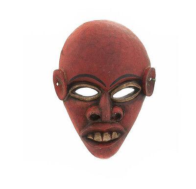 Mask Tibet Nepal Crafts Hat and Mitten Set or Tibetan 9432