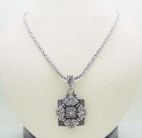 "Vintage SARDA 20"" Necklace in Sterling Silver 33 Grams"