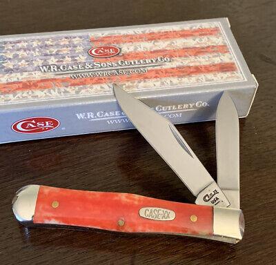 1996 CASE XX RED APPALOOSA 6225 1/2 SMALL COKE BOTTLE POCKET KNIFE