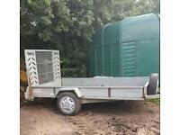 Car trailer, galvanised, ramp!!