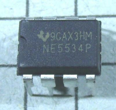 Ne5534p 5534 Low-noise Op Amp 8pin Dip 5pcs Per Lot