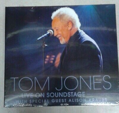 Tom Jones LIVE ON SOUNDSTAGE DVD / CD Combo NEW