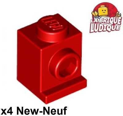 Lego 2x Plate Modified 2x2 Bar Frame Square marron//reddish brown 30094 NEUF