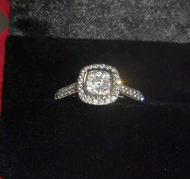 18ct gold engagement ring or dress ring size T