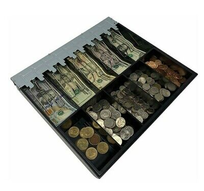 Cash Register Drawer Insert Tray With 5 Bill5 Coin Compartments- Certus Global