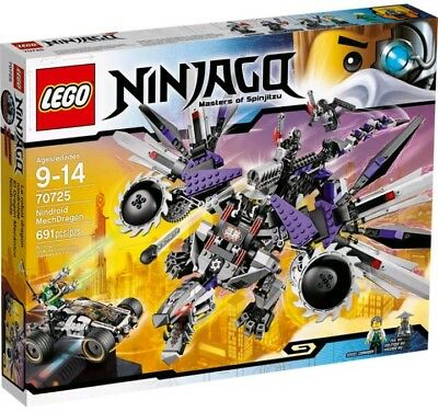 Lego Ninjago 70725 Nindroid Mech Dragon