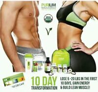10 day Transformation Full Body Cellular Cleanse and Detox