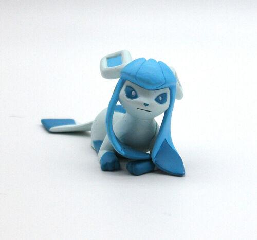 "Pokemon Glaceon 2"" ippai laying figure toy Japan gacha playset"