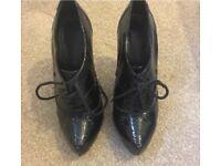 Kurt Geiger lace up heels size 4